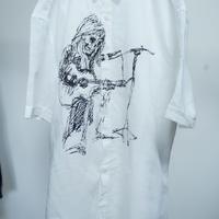 rock of death shirt(white)