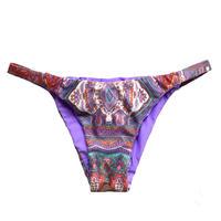 purple paisley brazilian pants