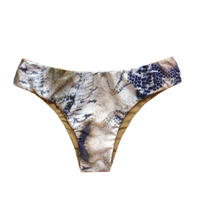 【受注販売期間限定】 beigepython slim pants