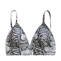 blackpython triangle bikini tops