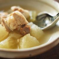 冬瓜と豚肉の塩煮(1〜2人分)/MOMOE