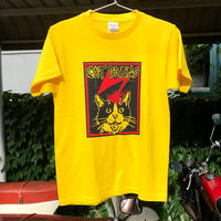 《限定キッズサイズ150》【CATBRAINS】Tshirts_Yellow