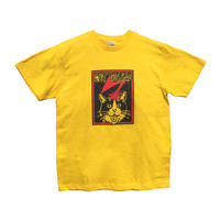 【CATBRAINS】Tshirts_Yellow