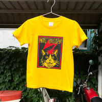 《限定キッズサイズ130》【CATBRAINS】Tshirts_Yellow