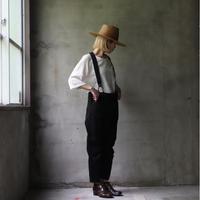 MAVRANYMA マヴラニマ  / Suspender pantsパンツ/ Mav-21002