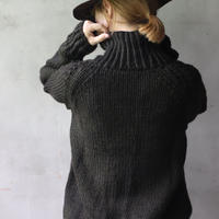 BIEK VERSTAPPEN / Hand-knitted Sweater Cable  / Bie-20013