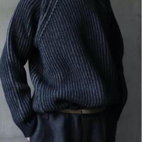 WILLIAM LOCKIE / Boat-neck raglan pulloverニット/ W-20002