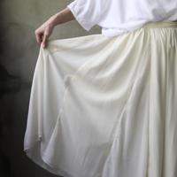 cavane キャヴァネ / Multi fabric Gathered-skirtスカート /  ca-20071