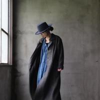 cavane キャヴァネ /  Wool & Linen-coat unisexロングコート / ca-19131