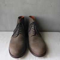 formeフォルメ/外羽根ショートブーツBlucher GUIDI Italian Vacchetta calf  reverse  short boots 6hole / fo-17045