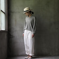 G.R.P. Knitwear Factoryニットウェア・ファクトリー / Polo shirtリネンニット/ G-20004