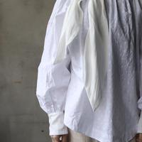 cavane キャヴァネ / Dot pattern blouse with tieブラウス /  ca-20016