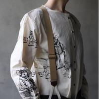 ALEKSANDR MANAMISアレクサンドルマナミス/ FABLE PRINT SHIRTシャツ/ am-21003