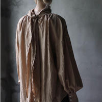 cavane キャヴァネ / Pull-over blouse with tieブラウス / ca-21122