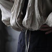 cavane キャヴァネ / 【受注予約】Back open balloon blouseⅡブラウス / ca-21110