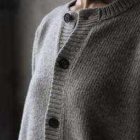 Bergfabel バーグファベル / Handmade cardiganヤク/ BFmW12Y100