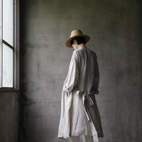 cavane キャヴァネ / cache-cœur robe-coatローブドレス / ca-19055