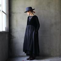 cavane キャヴァネ /  【受注予約】Cache-coeur dressワンピース / ca-20176