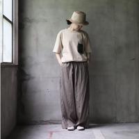 cavane キャヴァネ / TSH with  vintage pocket T シャツ / ca-20068