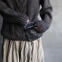 BIEK VERSTAPPEN / Hand-knitted Sweater Cable  / Bie-19012