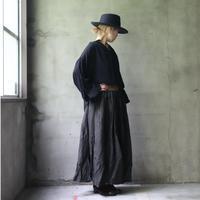 cavane キャヴァネ / Muddy over skirtオーバースカート /  ca-20112