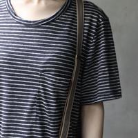 Schiesserシーサー  / linen knitニット / sc-21001