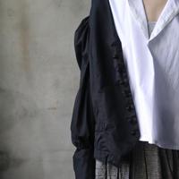 NATIVE VILLAGE ネイティブヴィレッジ / Cotton satinパフスリーブシャツ /  na-20015