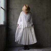 cavane キャヴァネ / Multi fabric Gathered-skirtスカート /  ca-20071+