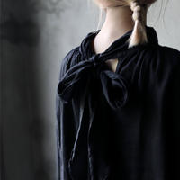 cavane キャヴァネ /【受注予約】 Pull-over blouse with tieブラウス / ca-21107