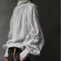 cavane キャヴァネ /  【受注予約】Pull-over blouse with tieブラウス  / ca-20107