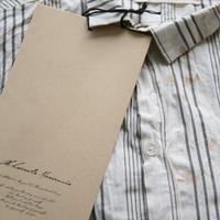 ALEKSANDR MANAMISアレクサンドルマナミス/Biased placket shirts シャツ/ am-19006