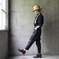 MAVRANYMA マヴラニマ  / Suspender pantsパンツ/ Mav-21001