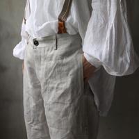 cavane キャヴァネ / over pants with suspendersオーバーパンツ /  ca-20094