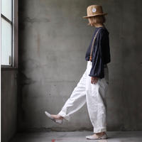 cavane キャヴァネ / over pants with suspendersオーバーパンツ /  ca-21051(Hold)