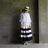 cavane キャヴァネ / Jacquard fabric -skirtスカート /  ca-20073