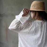 cavane キャヴァネ / String lace blouse羽織りブラウス /  ca-20022