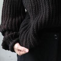 BIEK VERSTAPPEN / Hand-knitted Sweater   / Bie-20014