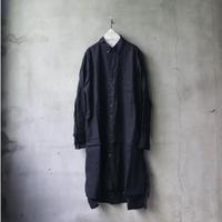 ALEKSANDR MANAMISアレクサンドルマナミス/ LONG BOX PLEAT SHIRTシャツコート/ am-20011