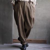 ALEKSANDR MANAMISアレクサンドルマナミス/ Worked suspender pantsパンツ / am-19008