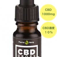 10%CBDオイルドロップ CBD1000mg/10ml 純度99%CBDクリスタル使用