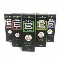 5%CBD配合、ベポライザー用CBDオイルリキッド(各種フレーバー) CBD500mg