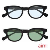 aim-mmw(カラーレンズ)ブラックフレーム 2color