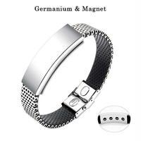 訳あり ゲルマニウム マグネット ブレスレット 男性用 女性用  即納 おしゃれブレスレット 磁石 磁気 tg187