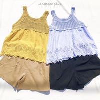 Crochet × Cutwork  No sleeve