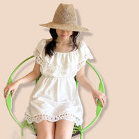 Summer Mini Lace One-piece