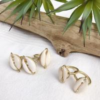 Shell Brass Ring