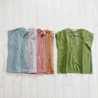 French sleeve 2way top / cotton