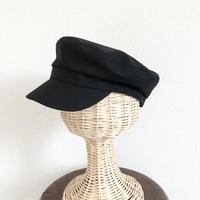 Marin Cap Linen Blend  Black