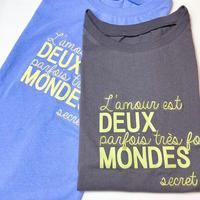 Embroidely logo french sleeve T-shirt