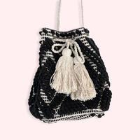 Jaguard  bag -Black-